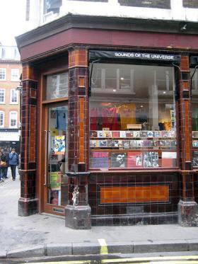 Il negozio Sounds of the universe a Londra