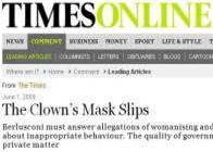 Silvio sul Times