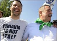 Matteo Salvini canzone razzista antinapoletana