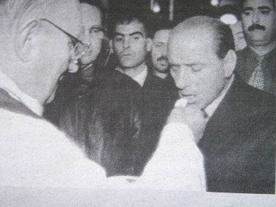 Berlusconi comunione