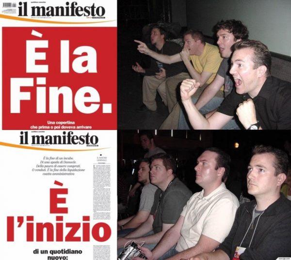 manifesto chiude anzi no