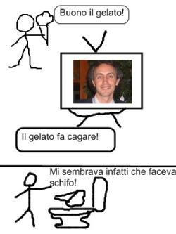 Marco Travaglio vignetta