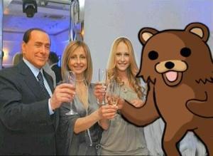 Berlusconi fotomontaggio Noemi
