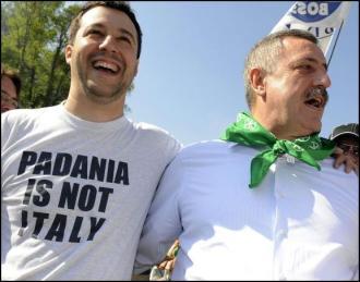 Padania Lega Matteo Salvini