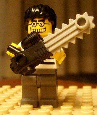 LEGO motosega
